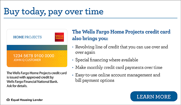 Apply for the Wells Fargo Home Projects Credit Card